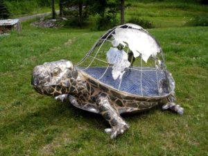 custom world turtle garden sculpture