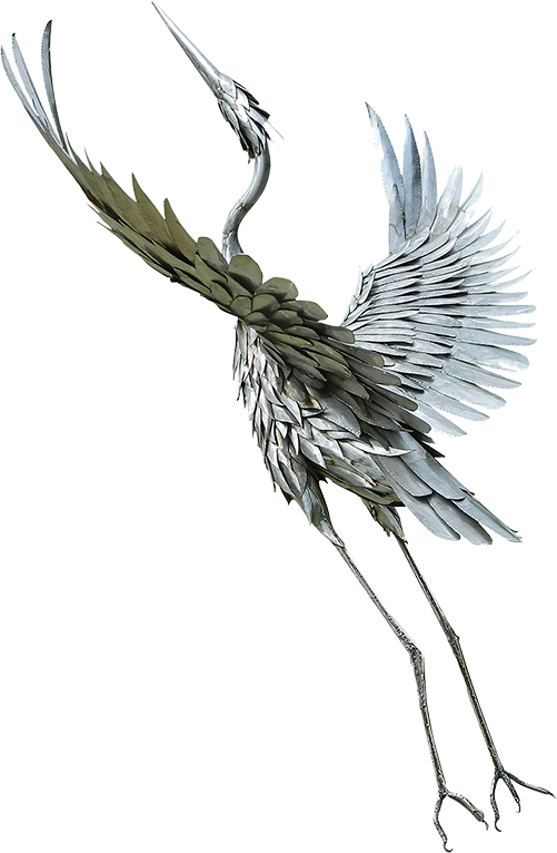 Custom Metal Bird Sculpture
