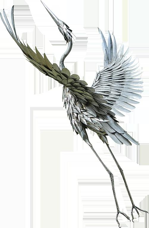 Custom Metal Bird Sculpture