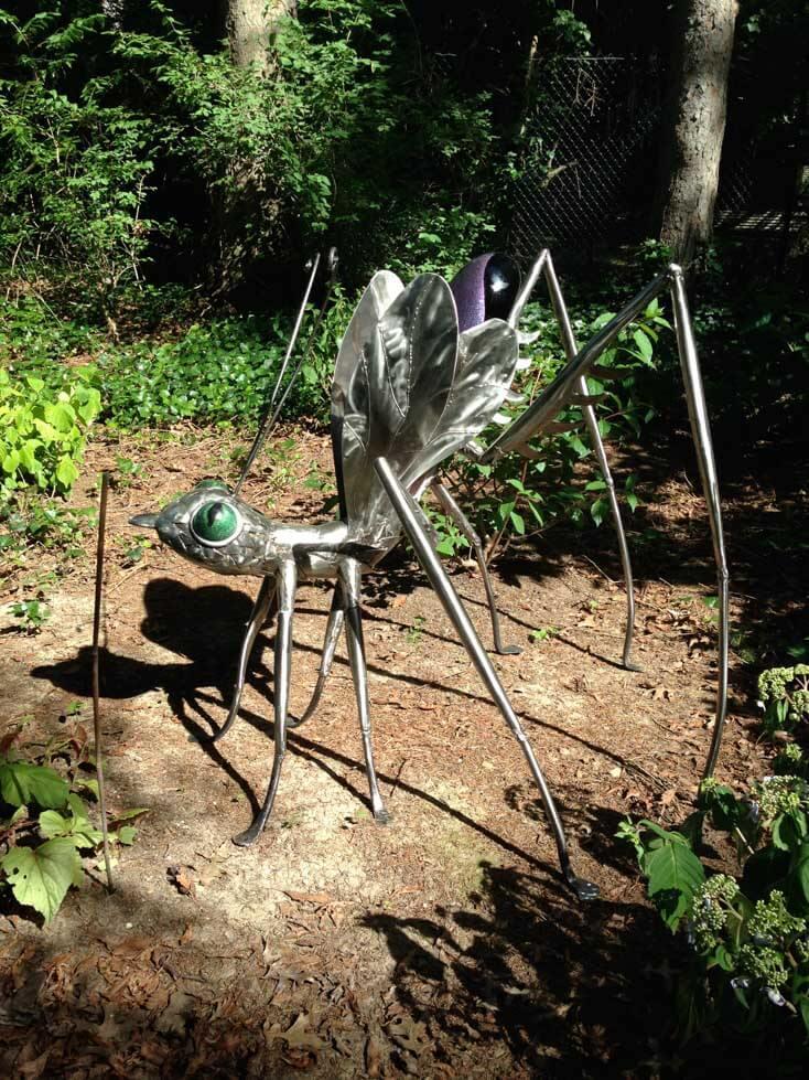 Insect Sculpture Artist Large Garden Sculptures James