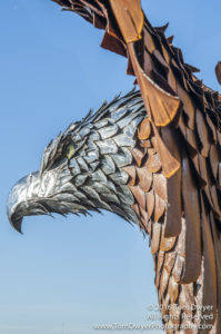 Seaman Sculpture Eagle Montezuma