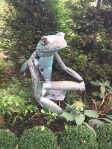 Seaman Sculpture Frog 2018